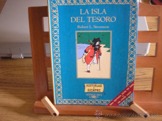 LA ISLA DEL TESORO (ROBERT L. STEVENSON) (Libros de Segunda Mano - Literatura Infantil y Juvenil - Novela)