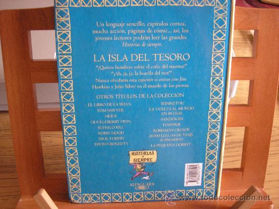 Libros de segunda mano: LA ISLA DEL TESORO (ROBERT L. STEVENSON) - Foto 2 - 26761197