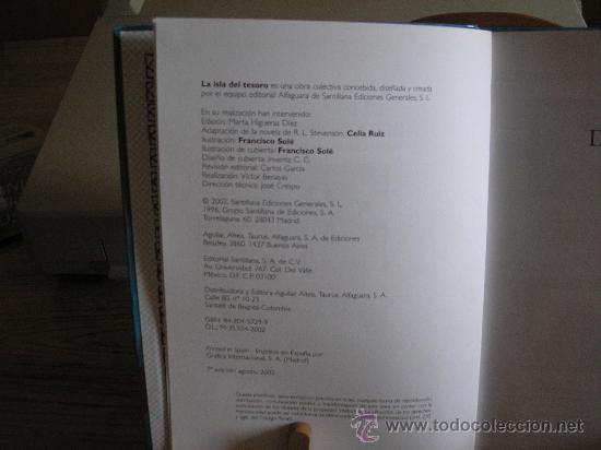 Libros de segunda mano: LA ISLA DEL TESORO (ROBERT L. STEVENSON) - Foto 3 - 26761197