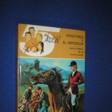 Libros de segunda mano: LOS 5 EN ACCIÓN Nº 5 - NOSOTROS Y EL IMPOSTOR - LAURA G. CORELLA - EDITORIAL MAVES. Lote 117324680