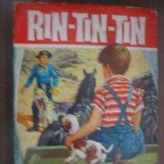 Libros de segunda mano: RIN-TIN-TIN. LAS CARRETAS DE HAPPY ROAD. 1964. 1ª EDICIÓN. BRUGUERA. HÉROES 37. Lote 21479347