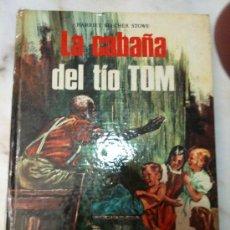 Libros de segunda mano: LA CABAÑA DEL TÍO TOM,HARRIET BEECHER STOWE-COLECCIÓN CLÁSICA JUVENIL-VOL-1.EDICIONES LAIDA-1970- . Lote 26806260