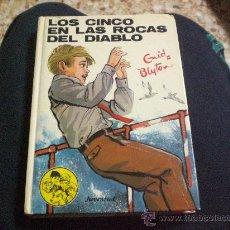 Libros de segunda mano: ENID BLYTON.Nº 43.- LOS CINCO EN LAS ROCAS DEL DIABLO.-ED. JUVENTUD.-. Lote 24861553