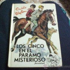 Libros de segunda mano: ENID BLYTON.Nº 34.- LOS CINCO EN EL PARAMO MISTERIOSO.-ED. JUVENTUD.-. Lote 24861565