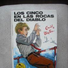 Libros de segunda mano: LOS CINCO EN LAS ROCAS DEL DIABLO DE ENID BLYTON EDITORIAL JUVENTUD. Lote 22998936