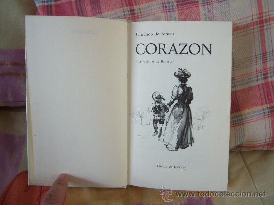Libros de segunda mano: EDMUNDO DE AMICIS Corazón - Foto 3 - 50107319