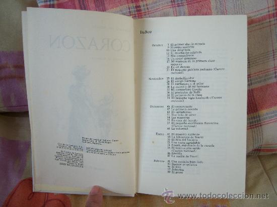 Libros de segunda mano: EDMUNDO DE AMICIS Corazón - Foto 4 - 50107319
