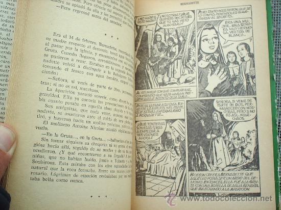 Libros de segunda mano: coleccion historias n.13 , bernadette, 1966 editorial bruguera - Foto 4 - 24170132