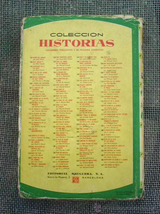 Libros de segunda mano: coleccion historias n.13 , bernadette, 1966 editorial bruguera - Foto 5 - 24170132