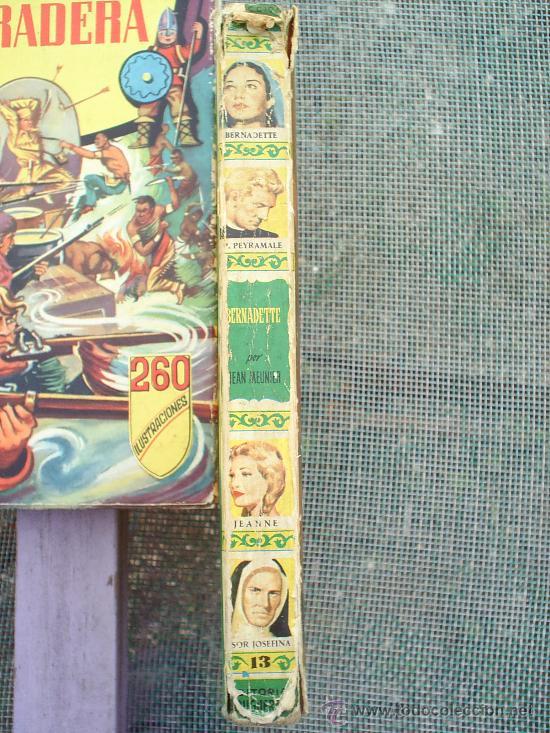 Libros de segunda mano: coleccion historias n.13 , bernadette, 1966 editorial bruguera - Foto 6 - 24170132