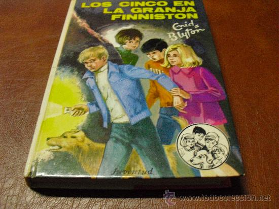 LIBRO Nº37LOS CINCO EN LA GRANJA FINNISTON DE ENID BLYTON.-ED- JUVENTUD AÑO 1985 (Libros de Segunda Mano - Literatura Infantil y Juvenil - Novela)