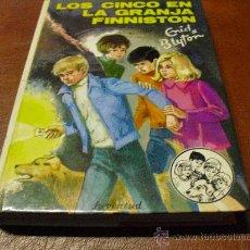 Libros de segunda mano: LIBRO Nº37LOS CINCO EN LA GRANJA FINNISTON DE ENID BLYTON.-ED- JUVENTUD AÑO 1985. Lote 36435788