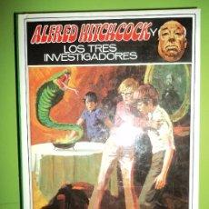 Libros de segunda mano: ALFRED HITCHCOCK Y LOS TRES INVESTIGADORES NÚMERO 17. Lote 26628532