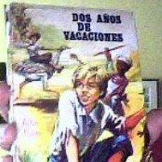 Libros de segunda mano: DOS AÑOS DE VACACIONES;JULIO VERNE;BOGA 1º EDICIÓN 1973. Lote 26236812