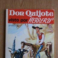 Libros de segunda mano: DON QUIJOTE VISTO POR HERREROS. SEGUNDA EDICIÓN.. Lote 26526210