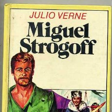 Libros de segunda mano: BRUGUERA HISTORIAS INFANTIL : JULIO VERNE - MIGUEL STROGOFF. Lote 26698117