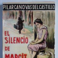 Libros de segunda mano: EL SILENCIO DE MARGIT. Nº 179. PILAR CANOVAS DEL CASTILLO. EDIT. ESCELICER S. L., NUEVO SIN LEER.. Lote 27255547