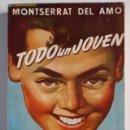 Libros de segunda mano: TODO UN JOVEN. Nº 100. MONTSERRAT DEL AMO. EDICC. ESCELICER S. L., NUEVO SIN LEER.. Lote 27259232