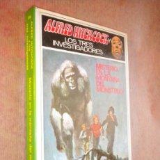 Libros de segunda mano: ALFRED HITCHCOCK Y LOS TRES INVESTIGADORES ; MISTERIO EL LA MONTAÑA DEL MONSTRUO, NUMERO 20. Lote 27236129