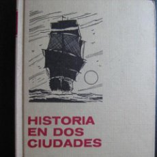 Libros de segunda mano: HISTORIA EN DOS CIUDADES. DICKENS, CARLOS. CLÁSICOS JUVENILES 24. BRUGUERA. Lote 27932561