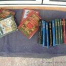 Libros de segunda mano: 19 TITULOS DE JULIO VERNE. LOTE.. Lote 28500346