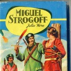 Libros de segunda mano: COLECCIÓN FERMA : JULIO VERNE - MIGUEL STROGOFF -ILUSTRADO EN COLOR. Lote 28830908