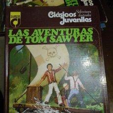 Libros de segunda mano: LAS AVENTURAS DE TOM SAWYER. MARK TWAIN. CLÁSICOS JUVENILES. ED. TOPELA 1976. (NOVELA-CÒMIC). Lote 29629797