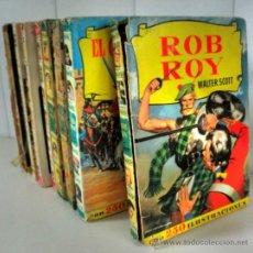Libros de segunda mano: LOTE DE LIBROS ILUSTRADOS VINTAGE AÑOS 50 - 60 - 70 * BRUGUERA * RON ROY * EL CID * RIN-TIN-TIN .... Lote 30782907