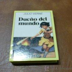 Libros de segunda mano: LIBRO HISTORIAS INFANTILES Nº34- DUEÑO DEL MUNDO DE JULIO VERNE. Lote 30834218
