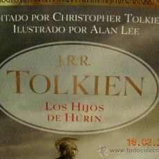 Libros de segunda mano: J.R.R. TOLKIEN LOS HIJOS DE HÚRIN ED. MINOTAURO. Lote 30925487