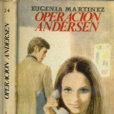 Libros de segunda mano: VIOLETA MOLINO : EUGENIA MARTÍNEZ - OPERACIÓN ANDERSEN (1970). Lote 30973729