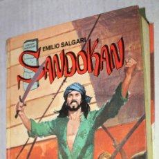 Libros de segunda mano: SANDOKAN (EMILIO SALGARI). Lote 31632351