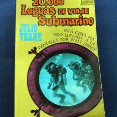 Libros de segunda mano: 20.000 LEGUAS E VIAJE SUBMARINO. JULIO VERNE. LIQUIDACIÓN DE LIBROS!!!!!!!!. Lote 95930418