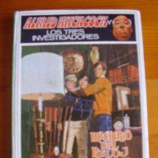 Libros de segunda mano: LIBRO ALFRED HITCHCOCK Y LOS TRES INVESTIGADORES: MISTERIO DEL RELON CHILLÓN (1969) MOLINO. Lote 31425268
