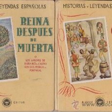 Libros de segunda mano: EL CABALLERO DE OLMEDO Y REINA DESPUES DE MUERTA. Lote 31692754
