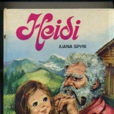 Libros de segunda mano: JUANA SPIRY : HEIDI (TORAY, 1976) ILUSTRACIONES DE CARMEN GUERRA -240 PÁGINAS. Lote 31909141
