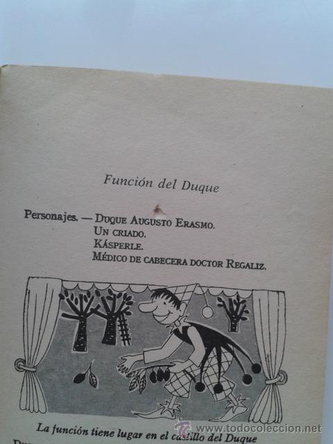 Libros de segunda mano: FUNCIONES Y JUEGOS DE KASPERLE - JOSEPHINE SIEBE - EDITORIAL NOGUER - 1984 - Foto 2 - 32676232