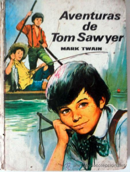 AVENTURAS DE TOM SAWYER * MARK TWAIN ADAPTACION DE JOSE ARDANUY * EDITORIAL VASCO AMERICANA 1974 (Libros de Segunda Mano - Literatura Infantil y Juvenil - Novela)