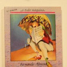 Libros de segunda mano: EL MAESTRO CIRUELA - FERNANDO ALMENA. Lote 32716054