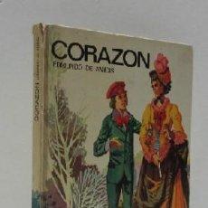 Libros de segunda mano: CORAZON - EDMUNDO DE AMICIS. Lote 33346308