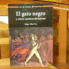 Libros de segunda mano: EL GATO NEGRO Y OTROS CUENTOS DE HORROR (EDGAR ALLAN POE). Lote 33689128