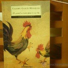 Libros de segunda mano: EL CORONEL NO TIENE QUIEN LE ESCRIBA (GABRIEL GARCÍA MÁRQUEZ) 9ª ED.. Lote 115765850