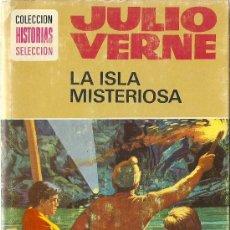 Libros de segunda mano: LA ISLA MISTERIOSA / JULIO VERNE * BRUGUERA * HISTORIAS SELECCIÓN *. Lote 34018671