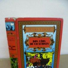 Libros de segunda mano: JULIO VERNE. DOS AÑOS DE VACACIONES. EDITORS, 1985. Lote 34795823