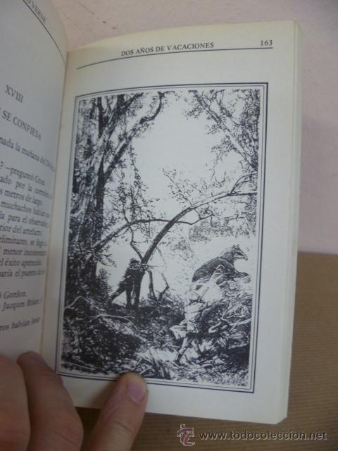Libros de segunda mano: JULIO VERNE. DOS AÑOS DE VACACIONES. EDITORS, 1985 - Foto 3 - 34795823