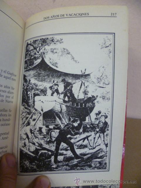 Libros de segunda mano: JULIO VERNE. DOS AÑOS DE VACACIONES. EDITORS, 1985 - Foto 4 - 34795823