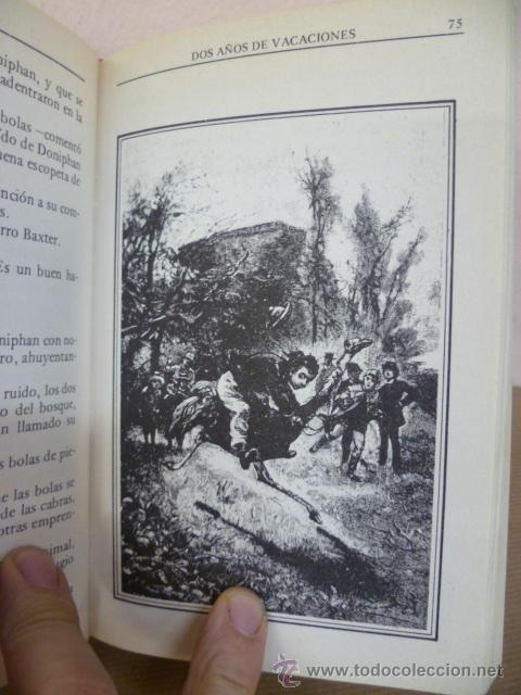 Libros de segunda mano: JULIO VERNE. DOS AÑOS DE VACACIONES. EDITORS, 1985 - Foto 5 - 34795823