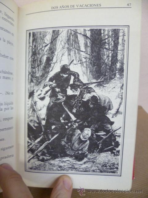 Libros de segunda mano: JULIO VERNE. DOS AÑOS DE VACACIONES. EDITORS, 1985 - Foto 6 - 34795823