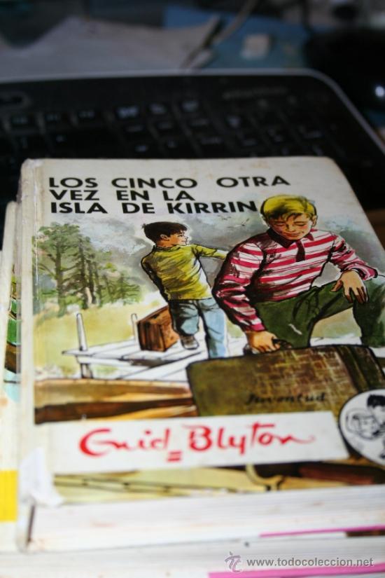 LIBRO ENID BLYTON LOS CINCO OTRA VEZ EN LA ISLA DE KIRRIN (Libros de Segunda Mano - Literatura Infantil y Juvenil - Novela)