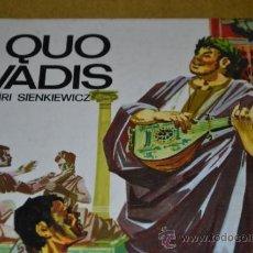 Libros de segunda mano: QUO VADIS-HENRI SIENKIEWICZ-EDICIONES SUSAETA-1.973. Lote 35215926